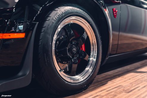2018 Corvette Grand Sport >> Gas Monkey Garage Black Dodge Demon - Forgestar D5 Beadlock Drag Racing Wheels